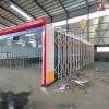 全自动伸缩喷漆房 性能稳定结构简单