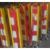 电力维护道路现场施工隔离玻璃钢绝缘伸缩围栏隔离栏