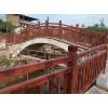 康百思厂家生产玻璃钢景观步道防护栏仿木纹护栏