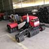 全自动自走式小麦镇压机  柴油液压转向农作物镇压车